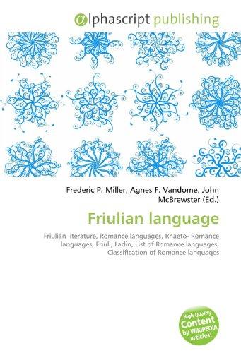 Friulian language: Frederic P. Miller
