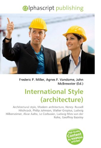 International Style (architecture): Frederic P. Miller