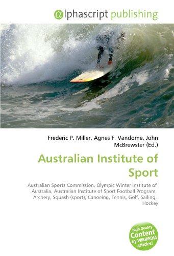 Australian Institute of Sport: Frederic P. Miller