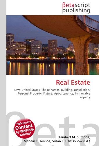 9786130341732: Real Estate
