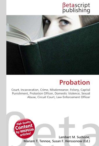 Probation: Lambert M. Surhone