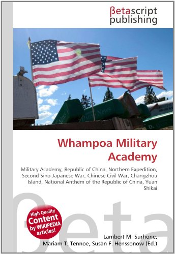 Whampoa Military Academy: Lambert M. Surhone