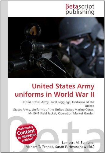 United States Army uniforms in World War II: Lambert M. Surhone