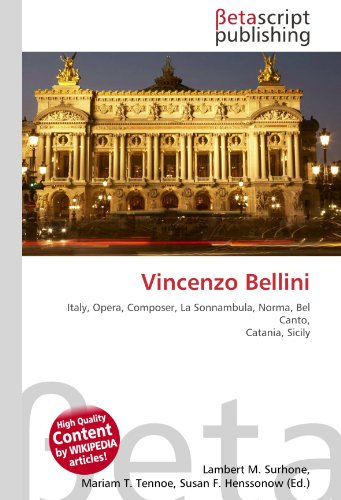 9786130369095: Vincenzo Bellini