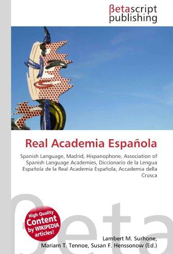 Real Academia Española: Lambert M. Surhone