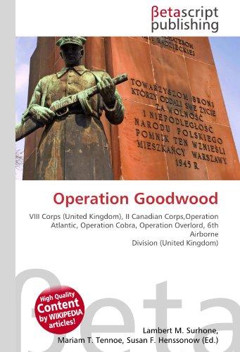 9786130381875: Operation Goodwood