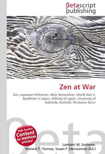 9786130391898: Zen at War