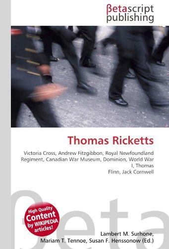 9786130435103: Thomas Ricketts