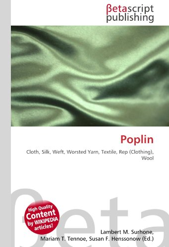 Poplin (Paperback): Lambert M. Surhone,