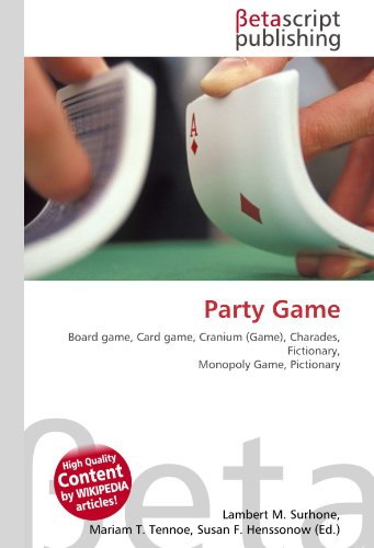 9786130461515: Party Game
