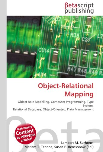 9786130509668: Object-Relational Mapping