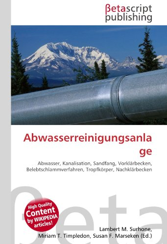 9786130532871: Abwasserreinigungsanlage