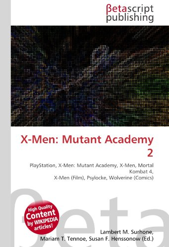 9786130545000: X-Men: Mutant Academy 2