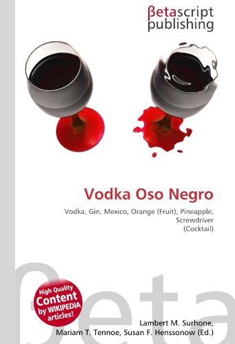 9786130547714: Vodka Oso Negro