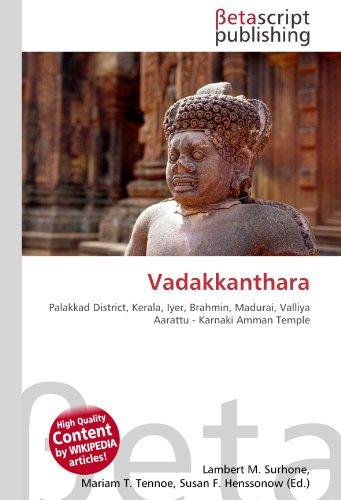 9786130562755: Vadakkanthara
