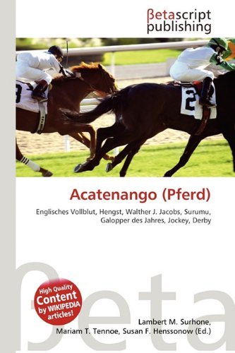 9786130595166: Acatenango (Pferd)