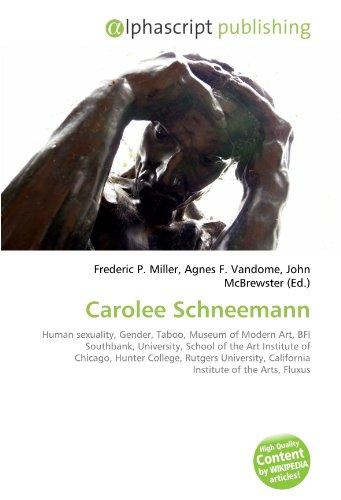9786130609672: Carolee Schneemann