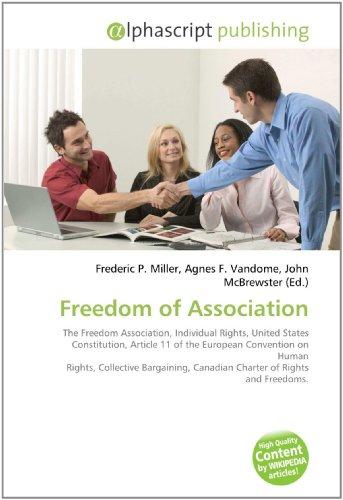 9786130614867: Freedom of Association