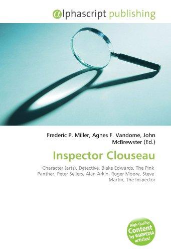 Inspector Clouseau: Frederic P. Miller