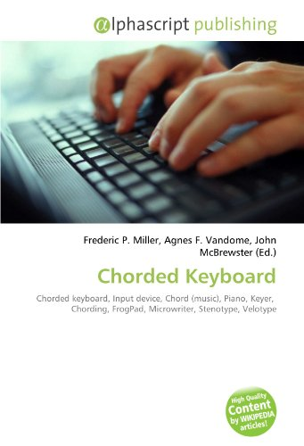 9786130627829: Chorded Keyboard: Chorded keyboard, Input