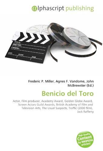 9786130630706: Benicio del Toro