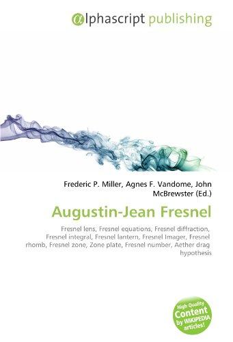 9786130653385: Augustin-Jean Fresnel