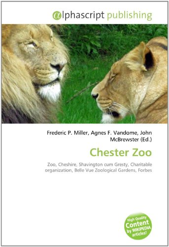 9786130658670: Chester Zoo