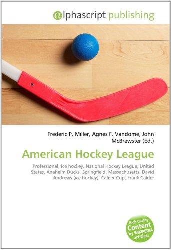 American Hockey League: Frederic P. Miller