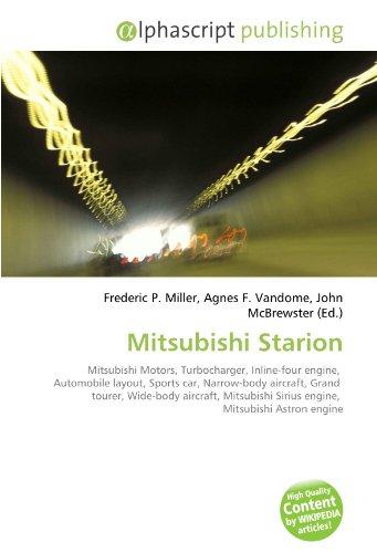 Mitsubishi Starion: Frederic P. Miller