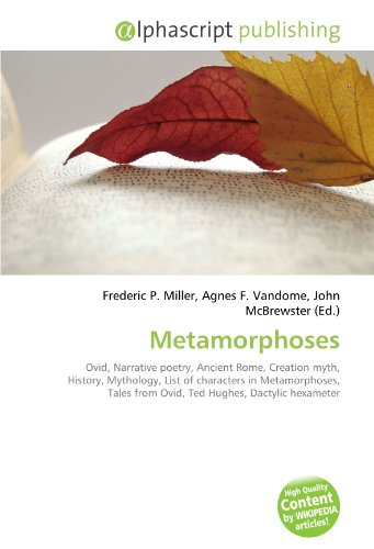 9786130690809: Metamorphoses