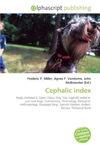 Cephalic index: Frederic P. Miller
