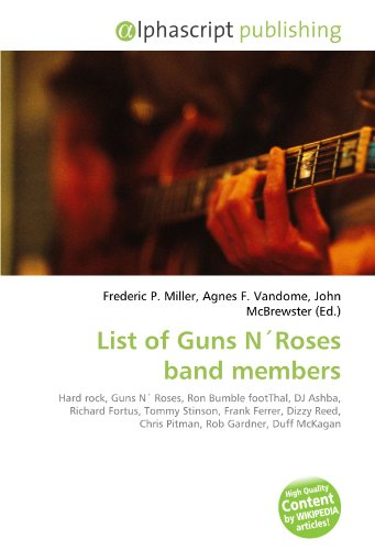 List of Guns N Roses band members: Frederic P. Miller