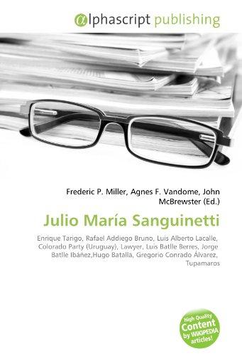 9786130717179: Julio Mara Sanguinetti