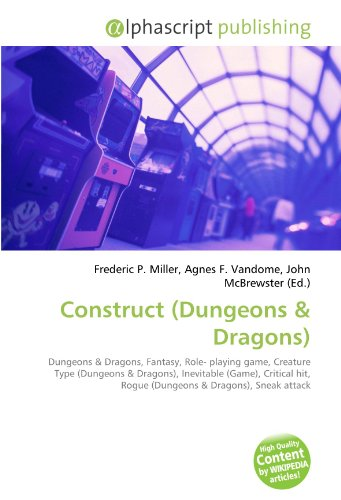 Construct (Dungeons: Frederic P. Miller