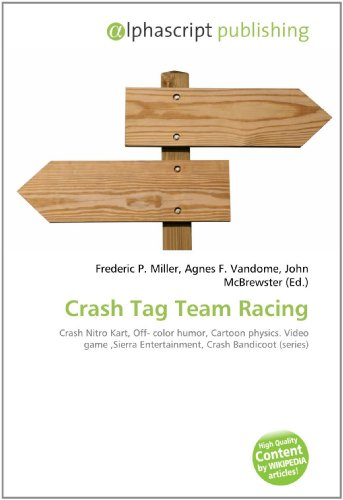 Crash Tag Team Racing: Frederic P. Miller