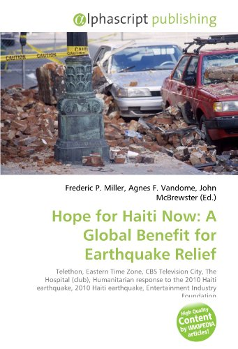 9786130750992: Hope for Haiti Now: A Global Benefit for Earthquake Relief