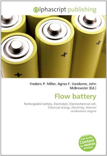 9786130781750: Flow battery
