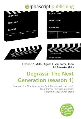 9786130788902: Degrassi: The Next Generation (Season 1)