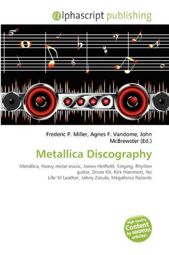 9786130792220: Metallica Discography