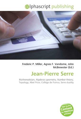9786130796235: Jean-Pierre Serre