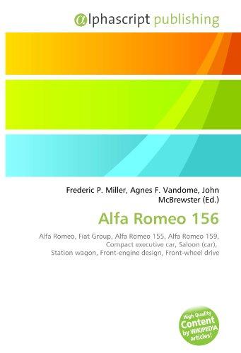 9786130800659: Alfa Romeo 156