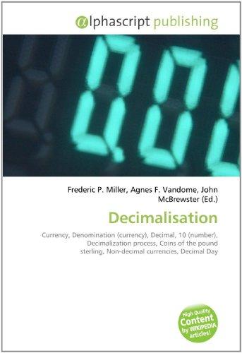 9786130813192: Decimalisation