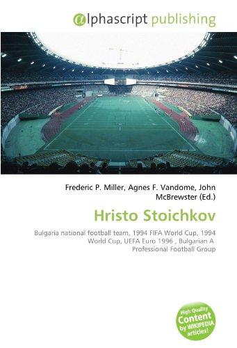 9786130819293: Hristo Stoichkov