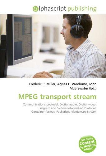 9786130823078: mpeg transport stream
