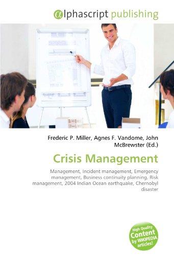 9786130824556: crisis management