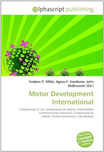 Motor Development International: Frederic P. Miller