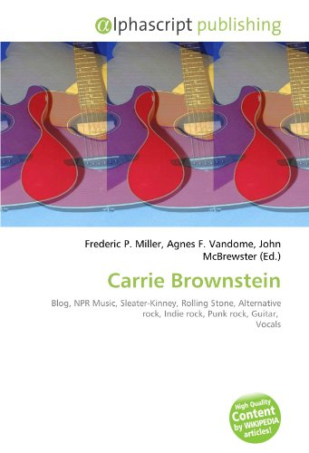 9786130834869: Carrie Brownstein