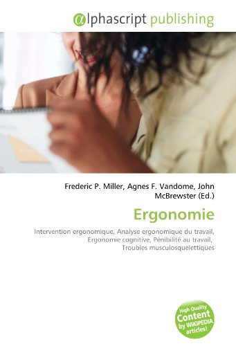 9786130837068: Ergonomie (French Edition)