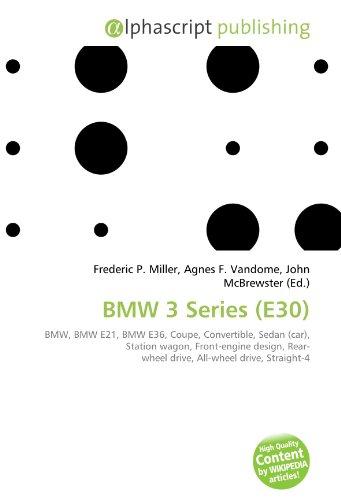 9786130844127: BMW 3 Series (E30)