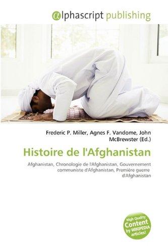 9786130870072: Histoire de L'Afghanistan
